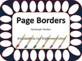 Page Borders by Deepti Tandon