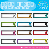 Page Flags Clipart