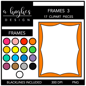 Page Frames Set 3 {Graphics for Commercial Use}