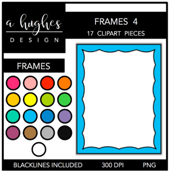 Page Frames Set 4 {Graphics for Commercial Use}