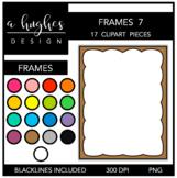 Page Frames Clipart Set: 7 {A Hughes Design}
