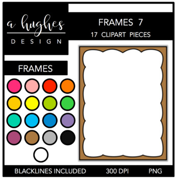 Page Frames Set 7 {Graphics for Commercial Use}