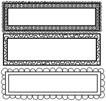 Page Headers Borders Frames