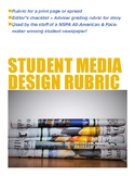 Page/Spread Design Rubric for Scholastic Journalism