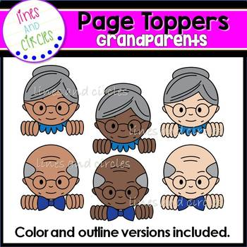 Page Toppers- Grandparents