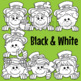 St. Patrick's Day Page Toppers Clip Art