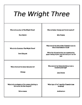 """Page Turners/Book Battles for """"Chasing Vermeer"""" and """"The Wright Three"""""""