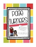 Page Turners Club Handbook, Reading Notebook Size, Reading in the Wild Forms