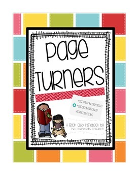 Page Turners Club Handbook, Reading Notebook Size, Reading