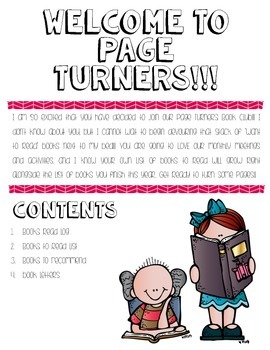 Page Turners Club Handbook for Classroom Book Clubs