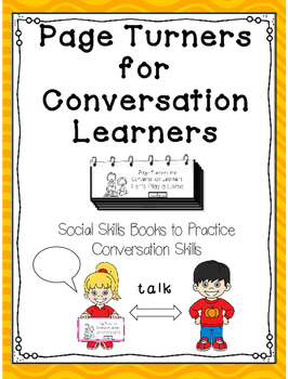 Page Turners for Conversation Learners- Mini-books to teac