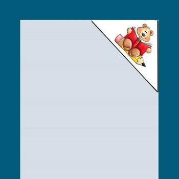 Page corner book mark