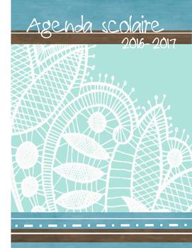 Page couverture Cahier de planification 2016-2017