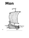 Page couverture pour le livret des Vikings