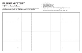 Page of Mystery