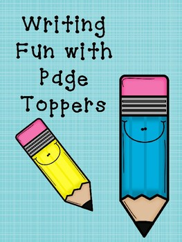Page toppers for Writing