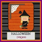 Pages - HALLOWEEN - Newsletter template - For iPads, iPhones, & Macs