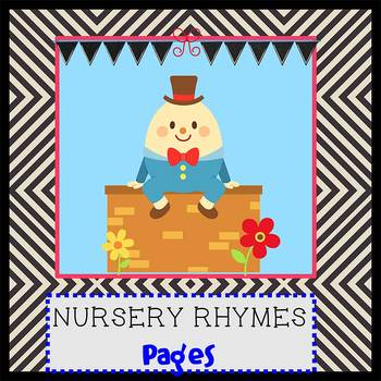 Pages - NURSERY RHYMES theme - Newsletter Template - For iPads, iPhones, & Macs
