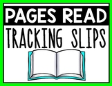 Pages Read Tracking Slip
