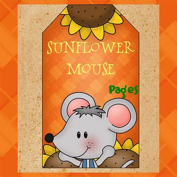 Pages - SUNFLOWER MOUSE - Newsletter template - For iPads, iPhones, & Macs