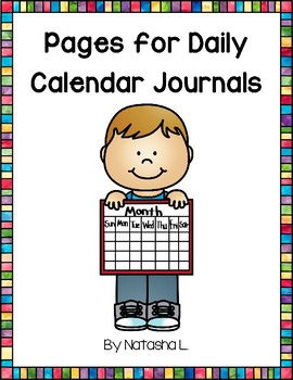 Pages for Calendar Journals