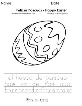 Páginas para Colorear - Coloring Pages- Happy Easter