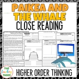 Paikea and the Whale | Maori Myths and Legends Passage and Questions