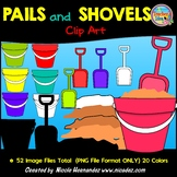 Pails and Shovels (Buckets and Spades) Clip Art for Teachers