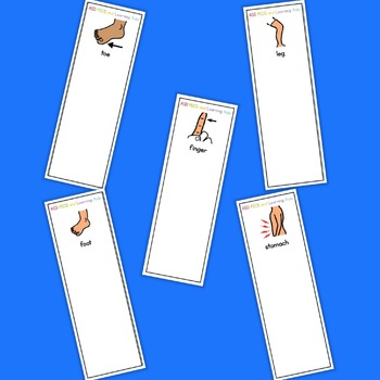 Pain / Hurt Fan - Boardmaker Visual Aids for Autism