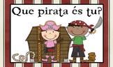 Painel dos comportamento *Tema dos Piratas*