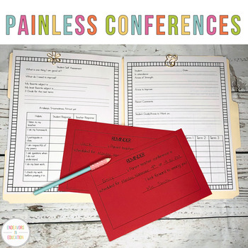 Making Parent-Teacher Conferences Painless Conferences