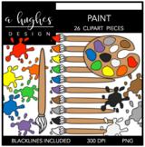 Paint 1 Clipart {A Hughes Design}
