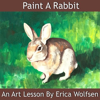Paint A Realistic Rabbit