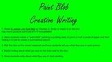 Paint Blob Creative Writing, It Looked Like Spilt Milk