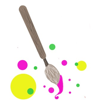 Paint Brush Clip Art Set