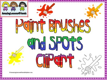 Paint Brushes and Spots