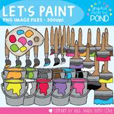 Paint Clipart - Let's Paint