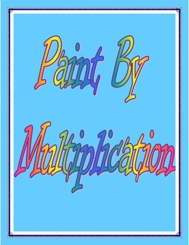 Paint By Multiplication