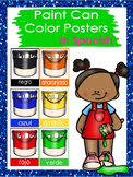 Paint Can Color Posters In Spanish