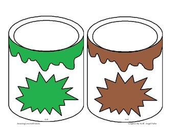 Paint Can Color matching Game