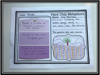 Paint Chip Metaphors