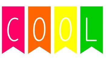 Back to School -Paint Chip Popsicle Bulletin Board or Door Display