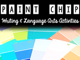 Paint Chip Projects & Activities - Language Arts & Writing Prompts!