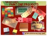 """Paint-Chip Projects"" Mini-Unit by The Bag Ladies!!"