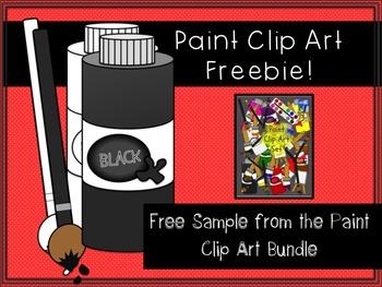 Paint Clip Art FREEBIE