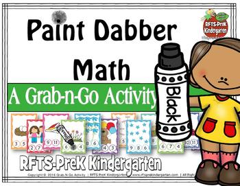 Paint Dabber Math (Grab-n-Go $1 Deal)