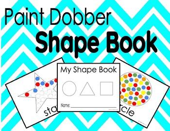 Paint Dobber Shape Book
