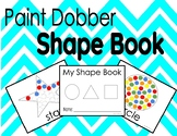 Paint Dobber Shape Book