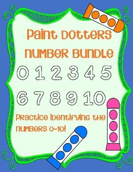 Paint Dotter Number Bundle