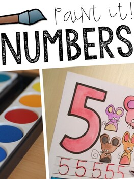 Paint-It: Numbers